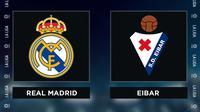 Liga Spanyol: Real Madrid Vs Eibar. (Bola.com/Dody Iryawan)