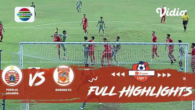 Berita video highlights Shopee Liga 1 2019 antara Persija Jakarta melawan Borneo FC yang berakhir dengan skor 4-2, Senin (11/11/2019).