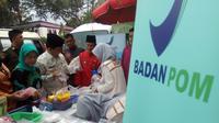 BPOM Palembang akan lebih ketat mengawasi peredaran makanan jelang Asian Games 2018 (Liputan6.com / Nefri Inge)