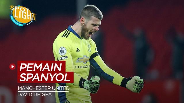 Berita video spotlight kali membahas tentang pemain Spanyol yang pernah dibeli Manchester United, salah satunya ialah David De Gea.