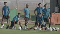 Timnas Indonesia berlatih di Dubai, Uni Emirat Arab (UEA). (PSSI).