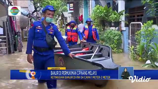 Fokus edisi (19/2) mengangkat beberapa topik di antaranya, Banjir Permukiman Cipinang Melayu, Banjir Rendam Perumahan Jatibening Permai, Bendung Katulampa Siaga 3.