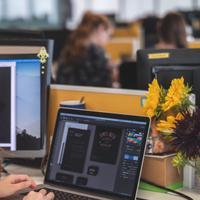 Posisi duduk saat bekerja bisa memengaruhi produktivitas./Copyright unsplash.com/@mimithian
