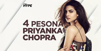 4 Pesona Priyanka Chopra yang Bikin Nick Jonas Jatuh Hati