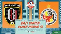 Shopee Liga 1 - Bali United Vs Semen Padang FC (Bola.com/Adreanus Titus)