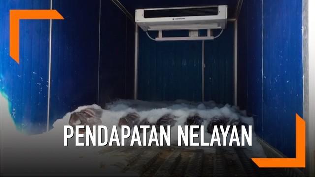Menteri Koordinator bidang Politik, Hukum, dan Keamanan Wiranto meninjau Sentral Kelautan dan Perikanan (SPKT) di Kabupaten Pulau Morotai, Maluku.