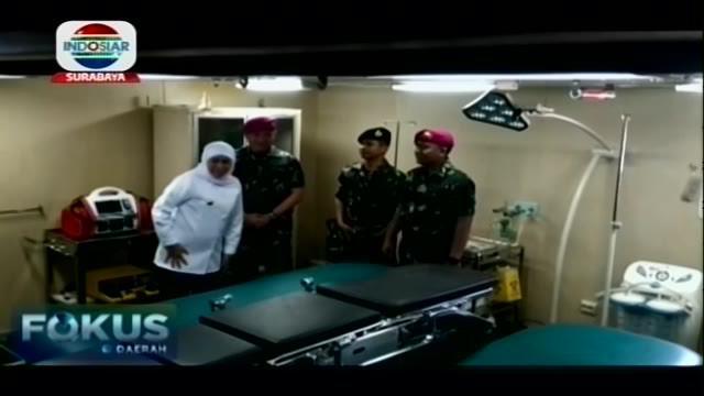 Pemprov Jawa Timur dengan TNI AL mengirimkan bantuan bahan pokok dan tenaga medis pasca kerusuhan di sejumlah wilayah di Papua dan Papua Barat.
