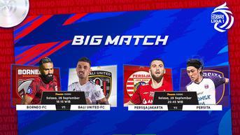 Sedang Main, Link Live Streaming BRI Liga 1 Big Match Bali United vs Borneo FC di Vidio
