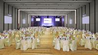 Aston Batam Hotel & Residence memiliki Ballroom dengan kapasitas1200 orang dan dilengkapi dengan soundsystem dan lighting berkualitas.