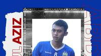Pemain Persib Bandung: Abdul Aziz. (Bola.com/Dody Iryawan)