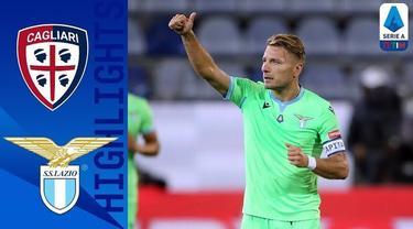 Berita Video highlights Liga Italia,Ciro Immobile cetak 1 gol saat Lazio kalahkan Cagliari 2-0, Sabtu (26/9/20)