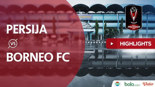 Berita video highlights Piala Presiden 2019 antara Persija Jakarta menghadapi Borneo FC yang berakhir dengan skor 5-0.