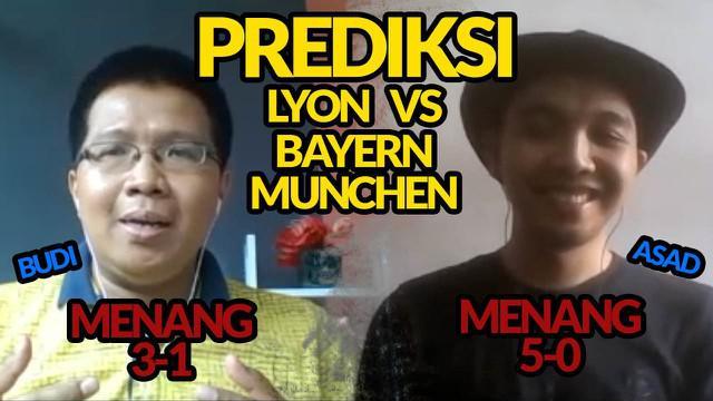 Berita video prediksi untuk semifinal Liga Champions 2019/2020, Bayern Munchen akan sulit dibendung Lyon dalam laga yang digelar Kamis (20/8/2020) dinihari WIB.