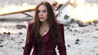 Elizabeth Olsen sebagai Scarlet Witch dalam Captain America: Civil War. (Marvel Studios)