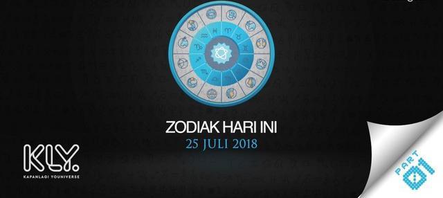 Video Zodiak Hari Ini: Simak Peruntungan Kamu di 25 Juli 2018 Part 1