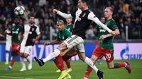 Striker Juventus, Cristiano Ronaldo (MARCO BERTORELLO / AFP)