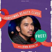 Tampil cantik saat Natal nanti bukan cuma mimpi. Yuk, belajar makeup bareng Ifan Rifaldi! (Sumber foto: FIMELA.com)