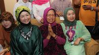 Ibunda Jokowi, Sujiatmi Notomiharjo (tengah). (Liputan6.com/Fajar Abrori)