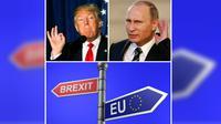 Sejarawan terkemuka Inggris, mengatakan bahwa Trump, Putin dan Brexit akan memicu terjadinya perang dunia (Wikipedia).