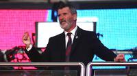 Tokoh lainnya adalah Roy Keane. Menurutnya, Liga Super Eropa hanya bergantung kepada uang dan keserakahan dan berharap FIFA dapat menghentikannya. (AFP/Nick Potts/Pool)