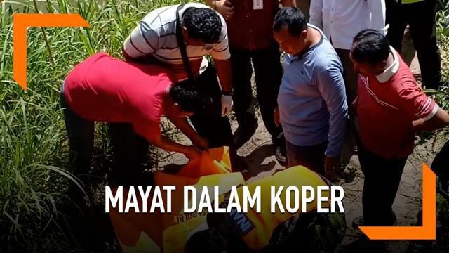 Jasad tanpa kepala ditemukan warga dalam sebuah koper. Identitas korban diketahui adalah Budi Hartanto, seorang guru asal Kediri.
