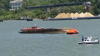 Kondisi jalur penyeberangan Nusakambangan pasainsiden kapal tenggelamnya Kapal Pengayoman IV milik kemenkumhan. (Foto: Liputan6.com/Polda Jateng)