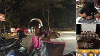 Pria Malaysia miliki 4 pekerjaan jadi viral (foto: Twitter/ @amnfdhl_)