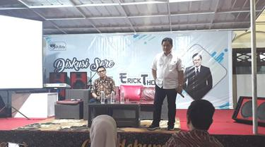 Sinyal Dukungan Sriwijaya FC untuk Erick Thohir Benahi PSSI