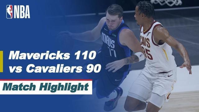 Berita video highlights NBA, pertandingan Dallas Mavericks melawan Cleveland Cavaliers, Sabtu (8/5/2021).
