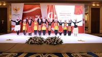 Penampilan Tari Papua dalam peringati 70 tahun hubungan diplomatik Indonesia-Turki di Hotel JW Marriot Ankara, Turki (21/9/2019) (Liputan6.com/KBRI Ankara)