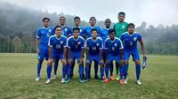 Timnas India U-16 jelang uji coba melawan Besiktas (25/8/2018) sebagai persiapan Piala AFC U-16 2018. (Bola.com/Dok. AIFF)