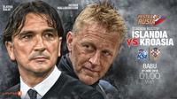 Islandia vs Kroasia (Liputan6.com/Abdillah)