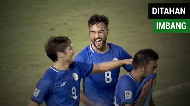 Berita video momen Timnas Indonesia ditahan imbang Filipina 2-2 pada laga fase grup di Piala AFF 2016. Seperti apa cuplikan pertandingannya tersebut?