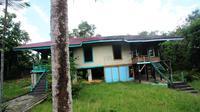 Cagar budaya rumah panggung Pertamina Balikpapan, Kalimantan Timur. (Liputan6.com/Abelda Gunawan)