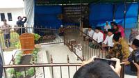 Bakal Calon Gubernur Jabar TB Hasanuddin berziarah ke makam KH Hasyim Muzadi