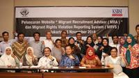 Hadirnya website Migrant Recruitment Advisor (MRA) dan Migrant Rights Violation Reporting System (MRVS) untuk melindungi kepentingan Pekerja Migran Indonesia.
