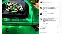 Unggahan Instagram yang dipermasalahkan oleh Ferrari (@philippplein/Instagram)