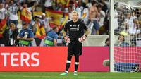 Kiper Liverpool, Loris Karius. (AFP/Paul Ellis)