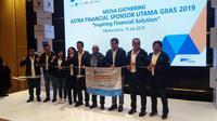 Astra Financial dengan enam lembaga jasa keuangan (LJK) yang tergabung di dalamnya kembali menawarkan berbagai program menarik di GIIAS 2019.