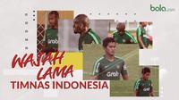 Wajah lama Timnas Indonesia. (Bola.com/Dody Iryawan)