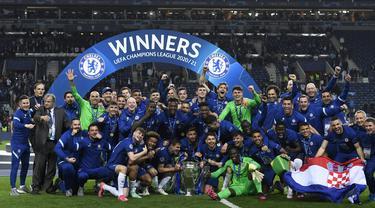 Taklukkan Man City 1-0, Chelsea Juara Liga Champions