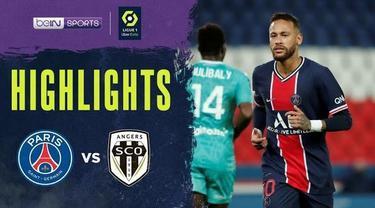 Berita Video Highlights Liga Prancis, PSG Vs Angers SCO 6-1. Kylian Mbappe dan Neymar tampil gemilang.