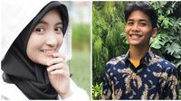 Usai putus dari kekasihnya, Arafah Rianti dijodohkan netizen dengan Bintang Emon. (Sumber: Instagram/@bintangemon/@arafahrianti)