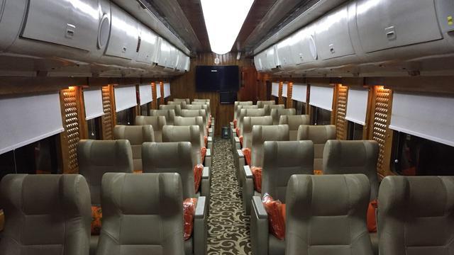 Harga Tiket Kereta Mewah Berfasilitas Tempat Tidur Kai Dibanderol Rp