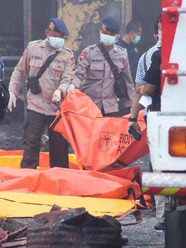 Gudang Mercon Meledak di Tangerang