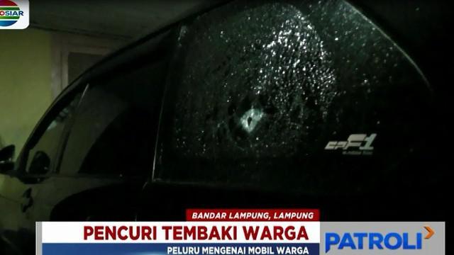 Polisi yang tiba dilokasi kejadian karena informasi dari warga, langsung melakukan penyelidikan awal terkait kasus penembakan ini.