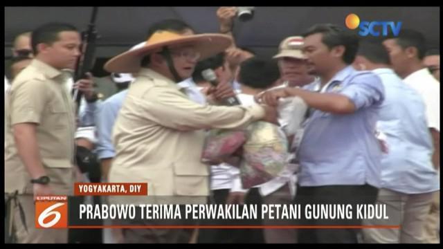 Kampanye terbuka di Yogyakarta, Prabowo Subianto singgung ketimbangan bangsa akibat ulah elit politik.