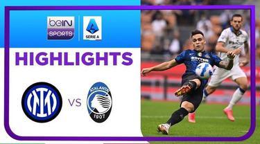Berita Video, Highlights Pertandingan Atalanta Vs Inter Milan pada Sabtu (25/9/2021)