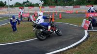 Astra Honda Safety Riding Instructors Competition di Pekanbaru (18/7/2018). (Sigit/Liputan6.com)