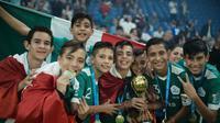 Meksiko Juara Danone Nations Cup 2019 (Danone)